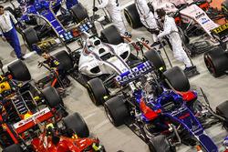 السيارات بعد السباق