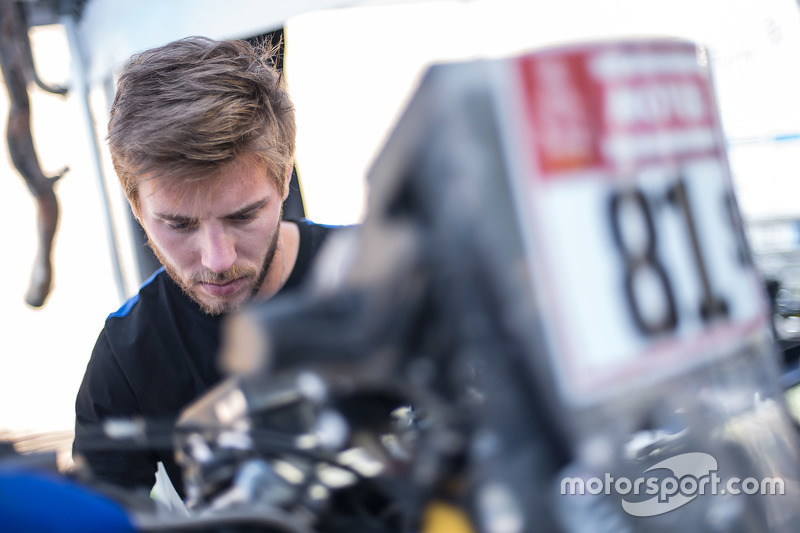 Yamaha Official Rally Team mechanic