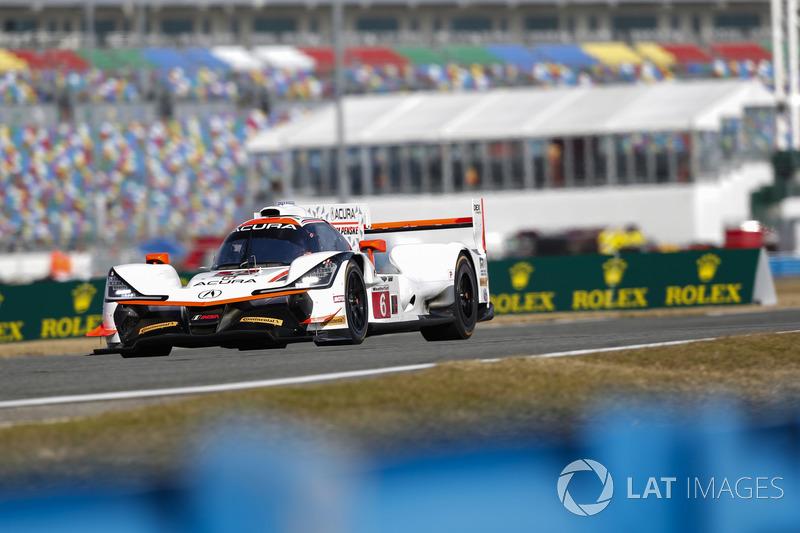 10.- #6 Acura Team Penske Acura DPi (Prototipo): Dane Cameron, Juan Pablo Montoya, Simon Pagenaud