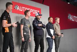 BTCC Champions Matt Neal, Gordon Shedden, Andrew Jordan, Colin Turkington and Ash Sutton on the Auto