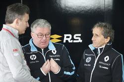 Alejandro Agag, Formula E CEO, CEO, Formula E, with Alain Prost, Senior Team Manager, Renault e.Dams