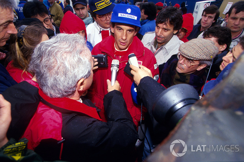 Monate später gibt Senna zu: bei schnellster Runde absichtlich abgekürzt