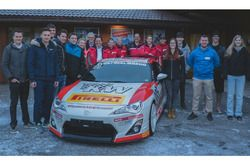 Les participants à la deuxième édition de Ella Swiss Race Academy