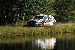 Kimi Räikkönen, Kaj Lindström, Fiat Abarth Grande Punto S2000