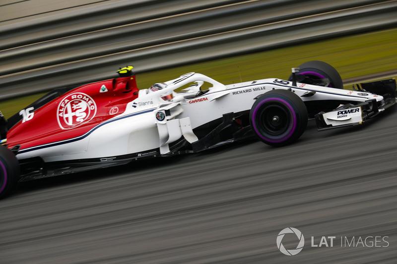 19. Charles Leclerc, Sauber C37