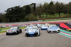 Gianmarco Quaresmini, Dinamic Motorsport, Tommaso Mosca, Tsunami RT, Sergio Campana, Ghinzani Arco Motorsport e il resto dei protagonisti della Carrera Cup 2022