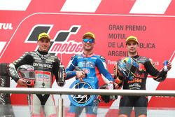 Xavi Vierge, Dynavolt Intact GP Mattia Pasini, Italtrans Racing Team Miguel Oliveira, Red Bull KTM A