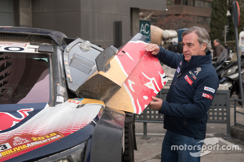 Карлос Сайнс, Peugeot Sport, у Мадриді