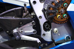 Detalle de la moto de Alex Rins, Team Suzuki MotoGP
