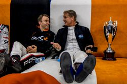 David Coulthard and Timo Bernhard