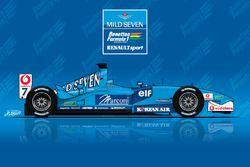 Рисунок Benetton B201