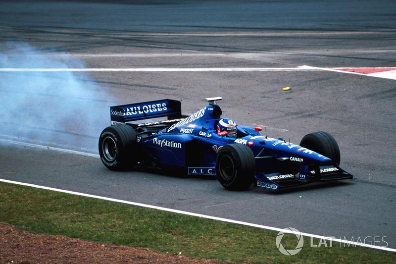 Сход Оливье Паниса, Prost Peugeot AP01, Гран При Аргентины 1998 года