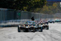 Jean-Eric Vergne, Techeetah, Nelson Piquet Jr., Jaguar Racing, Andre Lotterer, Techeetah