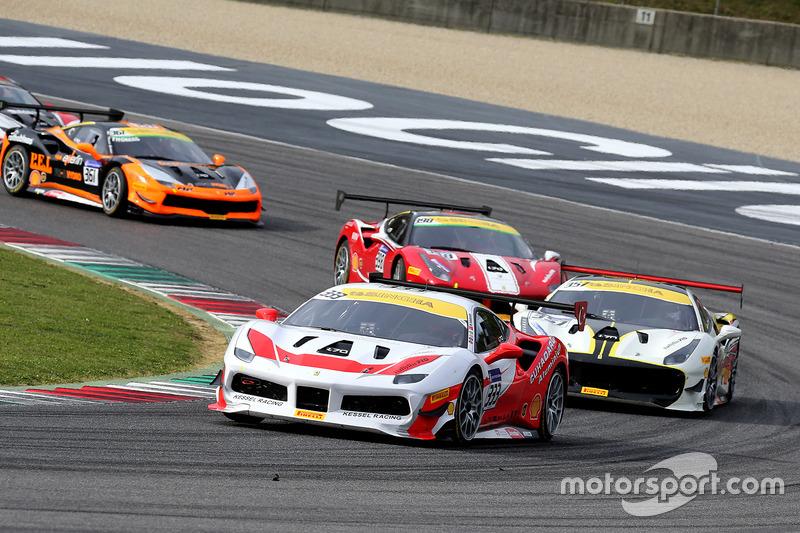 #333 S Kessel Racing Ferrari 488: Murat Ruhi Cuhadaroglu