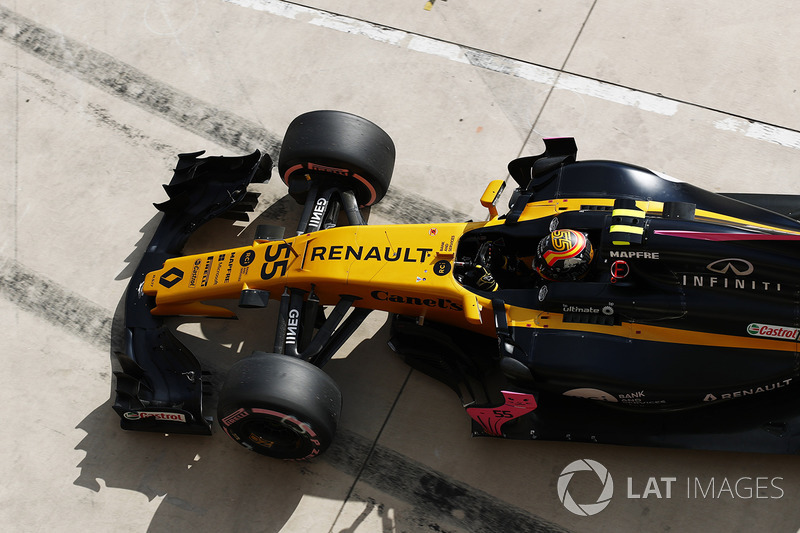 7: Carlos Sainz Jr., Renault Sport F1 Team RS17