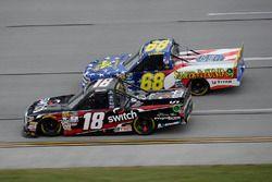 Noah Gragson, Kyle Busch Motorsports Toyota, Clay Greenfield, Chevrolet