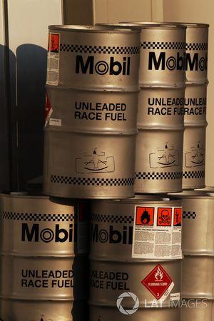 Vaten brandstof van Mobil