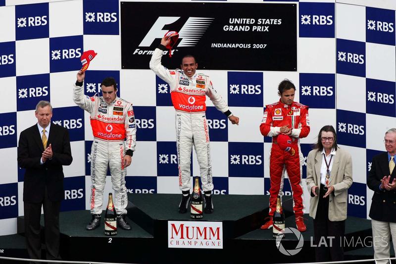 2- GP de Estados Unidos 2007. McLaren