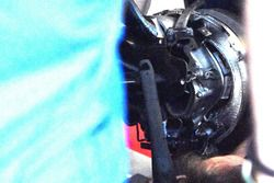 Scuderia Toro Rosso STR13 front suspension