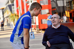Billy Monger and Frank Williams, Williams Team Owner
