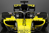 Renault F1 Team RS18, dttaglio dell'halo