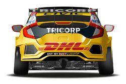 Автомобиль Honda Civic Type R TCR (FK8) Тома Коронеля