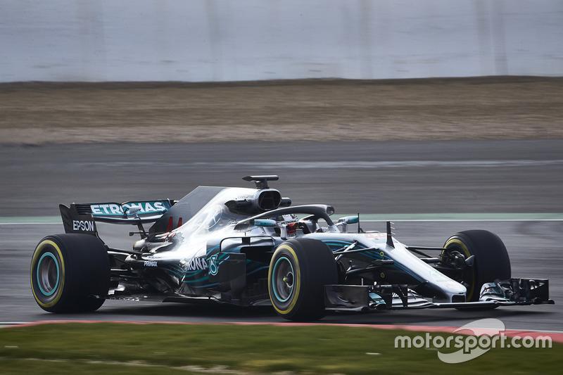 Lewis Hamilton, Mercedes AMG F1 W09 (2018)