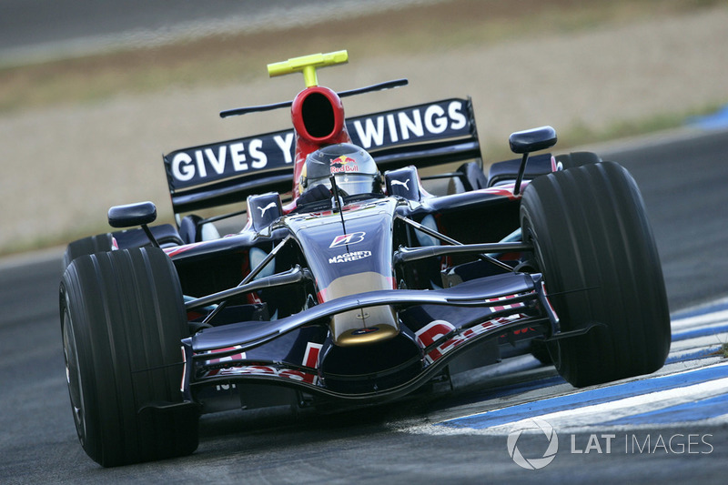 Sebastian Vettel, Toro Rosso STR02B Ferrari