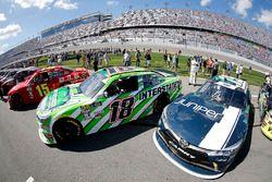 Daniel Suarez, Joe Gibbs Racing, Interstate Batteries Toyota Camry Brandon Jones, Joe Gibbs Racing,