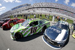 Daniel Suarez, Joe Gibbs Racing, Interstate Batteries Toyota Camry Brandon Jones, Joe Gibbs Racing,