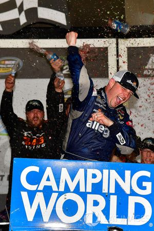 Johnny Sauter, GMS Racing, Allegiant Airlines Chevrolet Silverado wins
