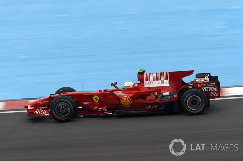 2008年:フェラーリF2008
