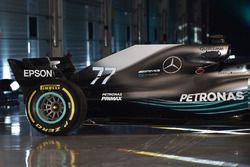 Arrière de la Mercedes AMG F1 W09