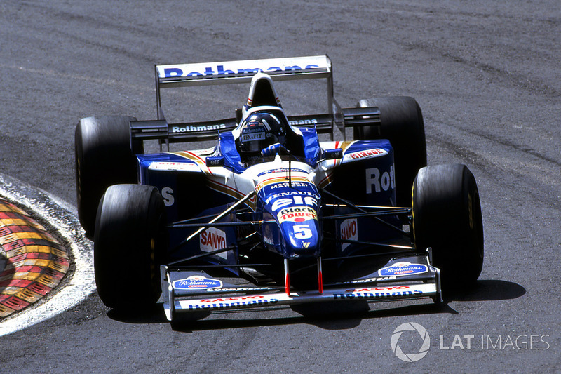 7: Williams FW18 - 1996