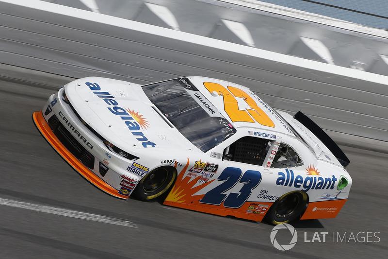 Spencer Gallagher, GMS Racing, Allegiant Chevrolet Camaro