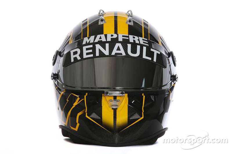 Il nuovo design del casco di Nico Hulkenberg