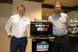 Richard Childress, und Chip Wile, Streckenchef Daytona International Speedway