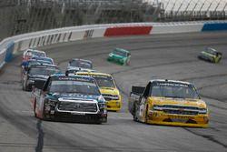 Noah Gragson, Kyle Busch Motorsports Toyota Tundra, Dalton Sargeant, GMS Racing, Performance Plus Mo
