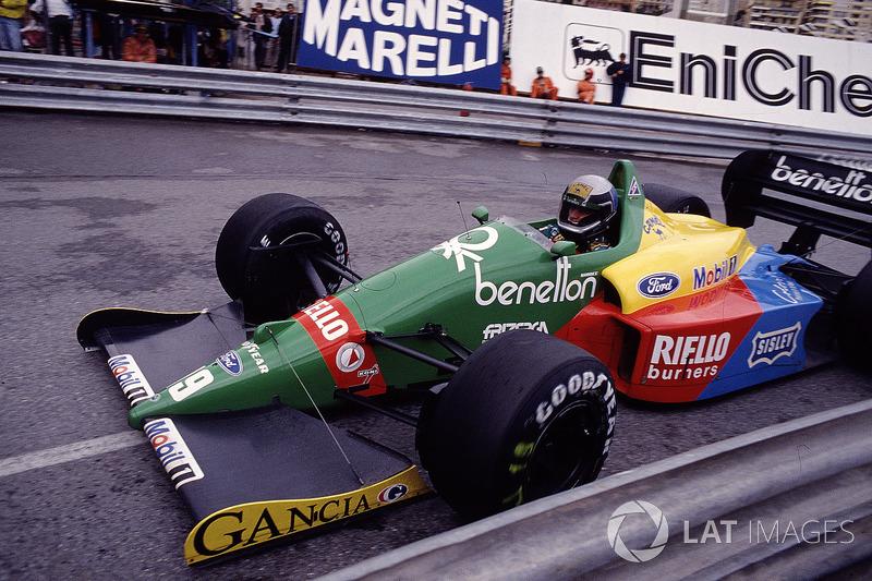 Алессандро Наннини, Benetton B188 Ford (2 подиума)