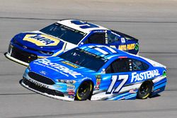 Ricky Stenhouse Jr., Roush Fenway Racing, Ford Fusion Fastenal and Chase Elliott, Hendrick Motorsports, Chevrolet Camaro NAPA Auto Parts