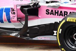 Sahara Force India VJM11 barge board detail