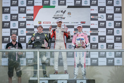 Podium: race winner William Alatalo, Mücke Motorsport, second place Niklas Krütten, Mücke Motorsport, third place David Schumacher, Rasgaira Motorsports