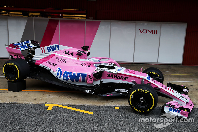 Force India-Mercedes VJM11