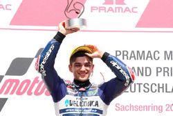 Podyum: Yarış galibi Jorge Martin, Del Conca Gresini Racing Moto3