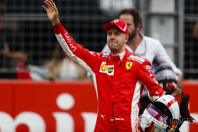 Alemania 2018: diez poles junto a Ferrari, cinco durante la temporada.