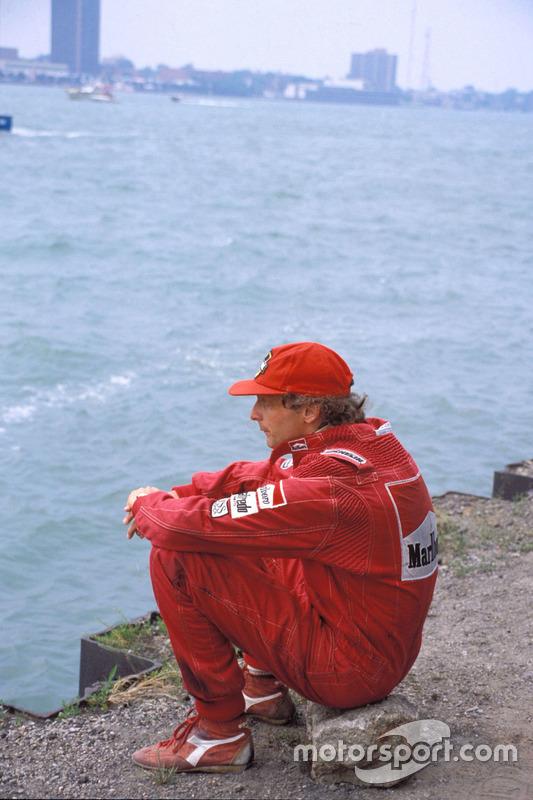Detroit 1984, Niki Lauda, Ferrari