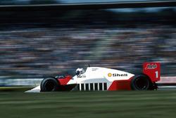 Alain Prost, McLaren MP4/2C, 6°, resta senza benzina