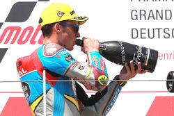 Podium: second place Joan Mir, Marc VDS Moto2