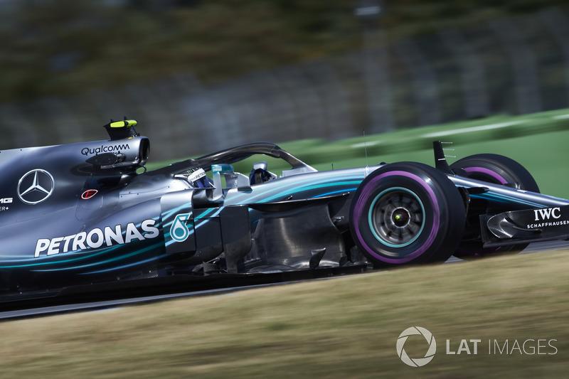 2: Валттери Боттас, Mercedes AMG F1 W09 – 1:11.416