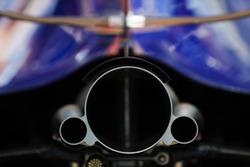 Toro Rosso Honda uitlaat detail